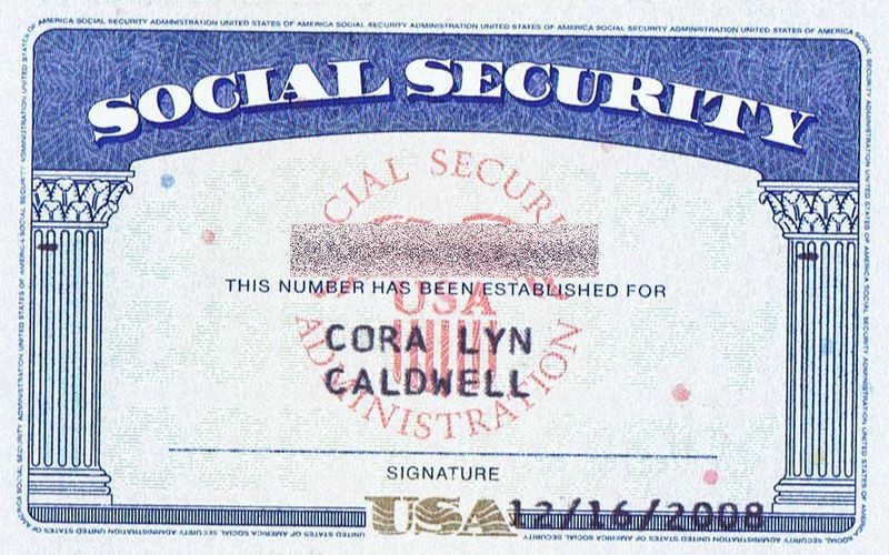 Cora Social Security protected