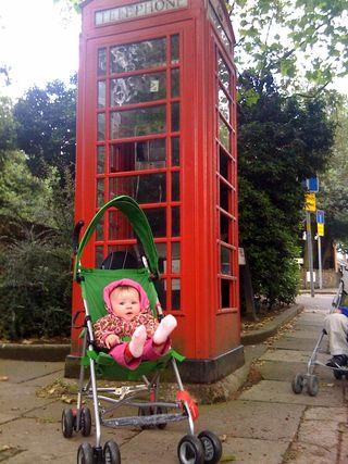 Cora london phonebooth