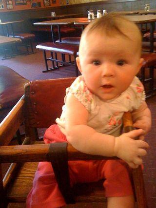 Cora first high chair