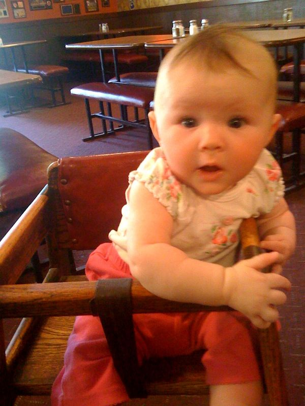 Cora first high chair