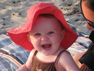 Beach big hat 2