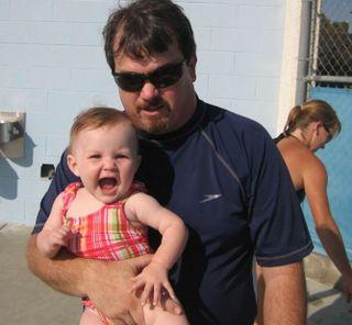 Cora Swimming 1