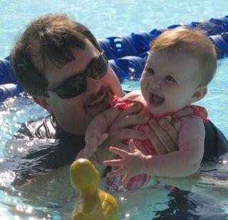 Cora Swimming 2