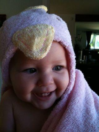 Cora bath chicken