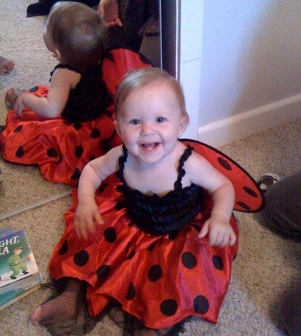 Cora first halloween